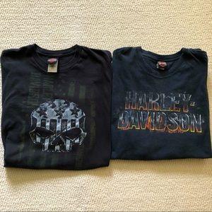 Combo Harley Davidson shirts